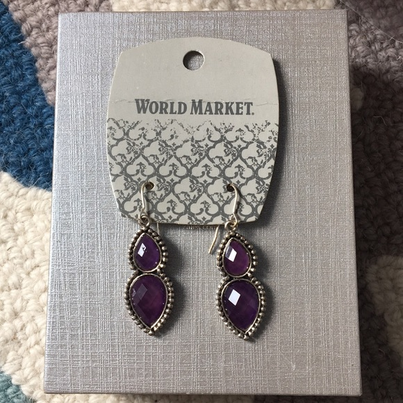 35715ecd8d5ec Purple Boho Earrings NWT